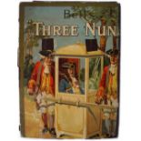 BELL'S THREE NUNS ORIGINAL POSTER