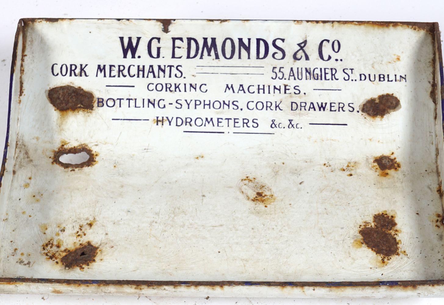 W. G. EDMONDS & CO. DESK SIGN - Image 2 of 4
