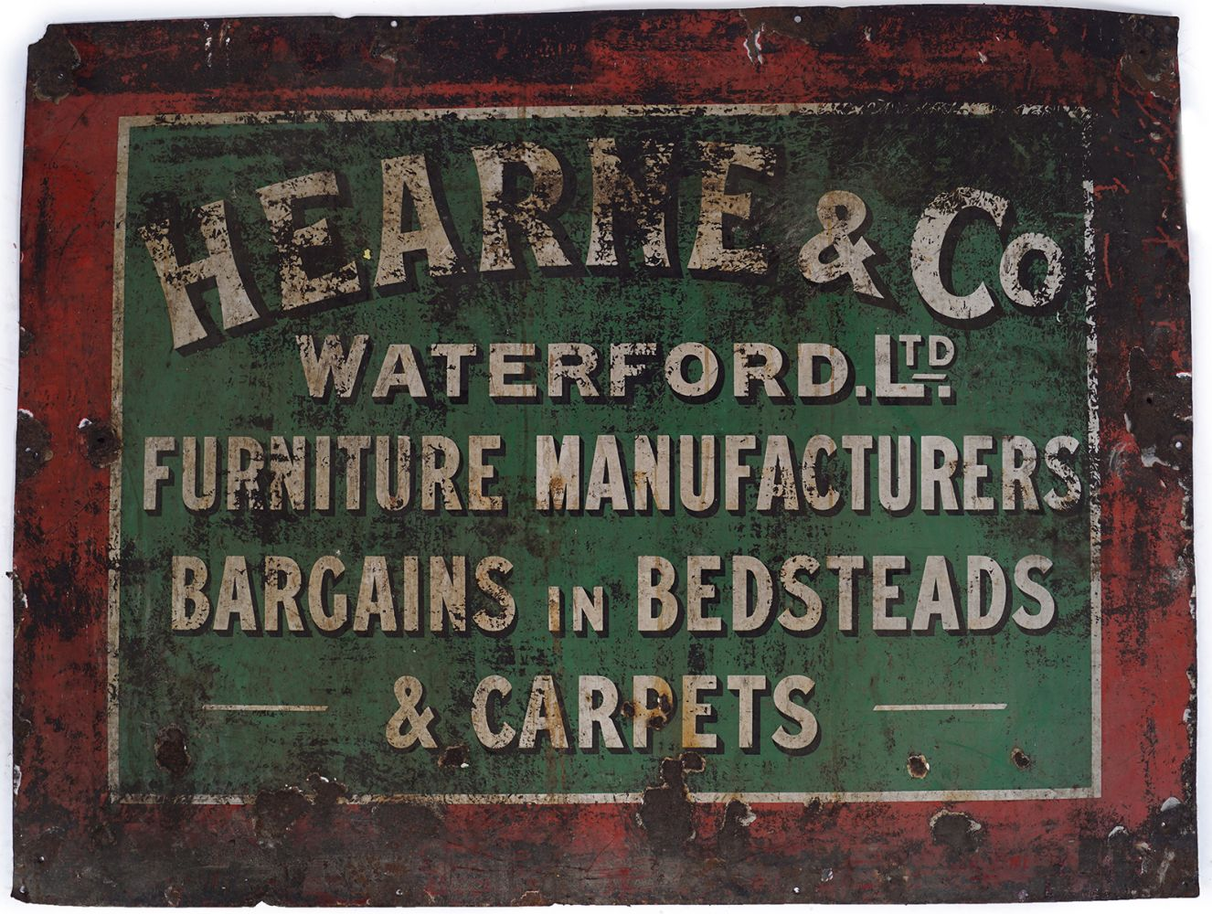 HEARNE & CO WATERFORD LTD. SIGN