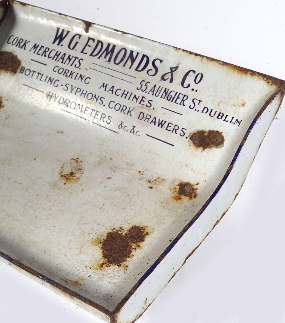 W. G. EDMONDS & CO. DESK SIGN - Image 4 of 4