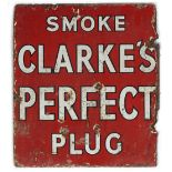 SMOKE CLARKE'S PERFECT PLUG SIGN