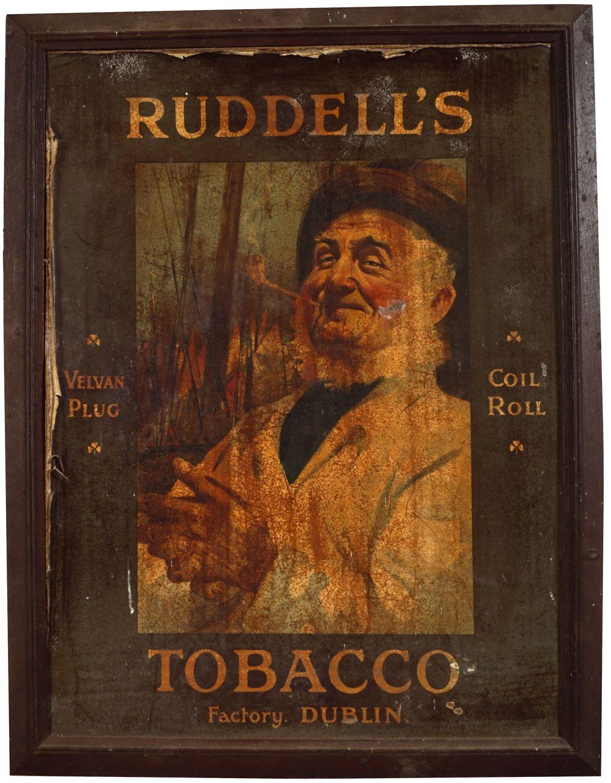 RUDDELL'S TOBACCO ORIGINAL POSTER