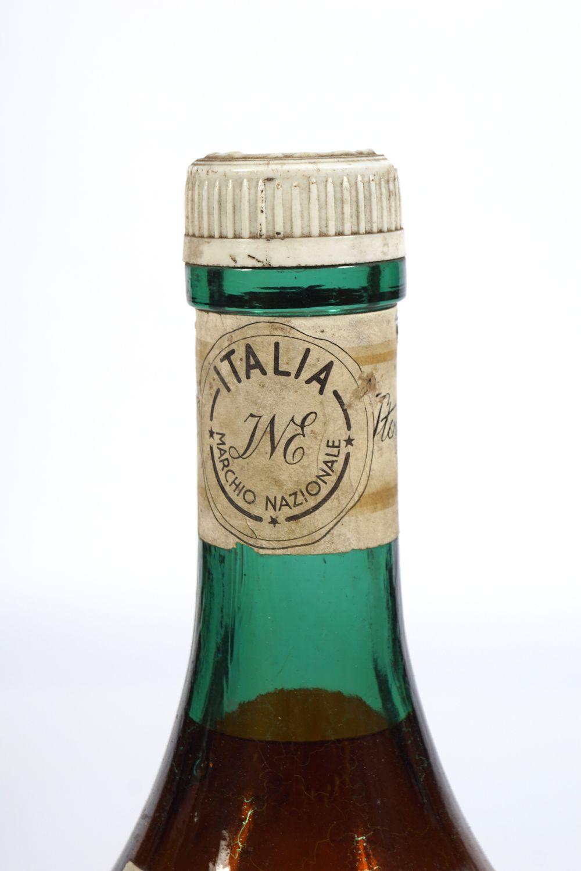 OLD BROWN GLASS MAGNUM BOTTLE - Image 2 of 5