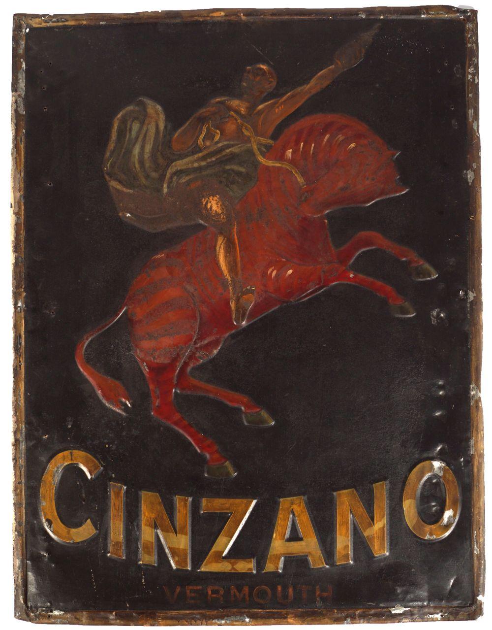 CINZANO VERMOUTH SIGN