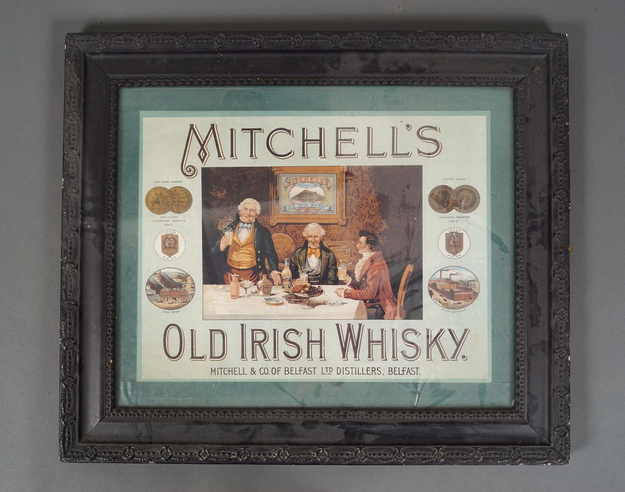 MITCHELL'S OLD IRISH WHISKY POSTER