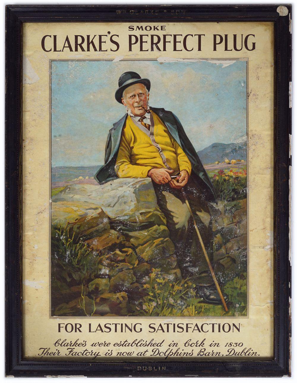 SMOKE CLARKE'S PERFECT PLUG ORIGINAL POSTER