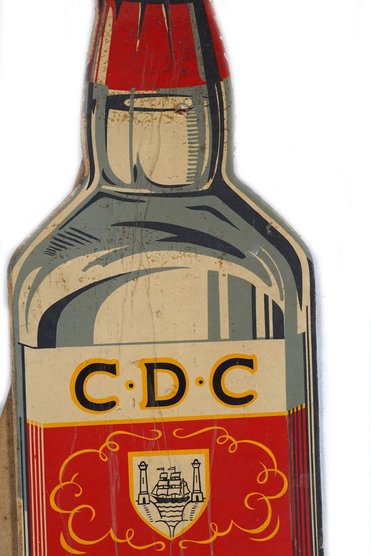 C.D.C. CORK DRY GIN ORIGINAL POSTER - Image 4 of 4