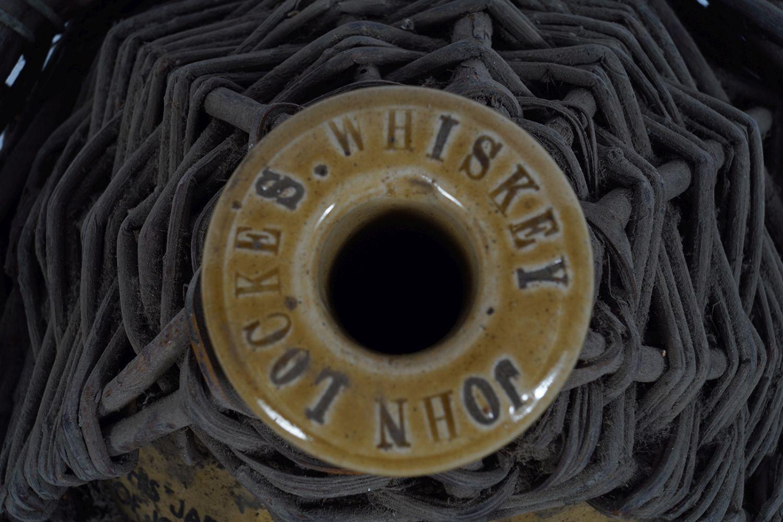 LATE 19TH-CENTURY JOHN LOCKE'S WHISKEY JAR - Image 2 of 3