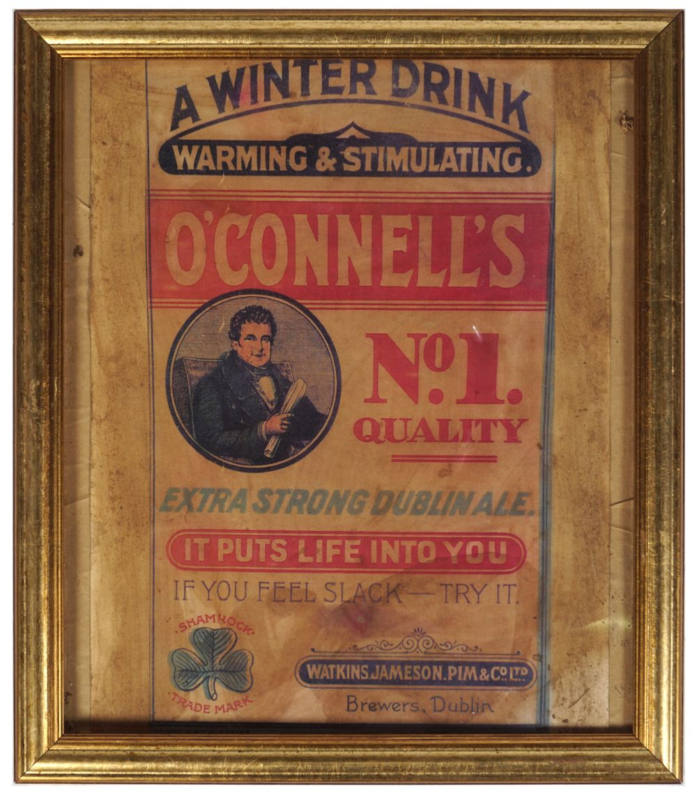 O'CONNELL'S NO.1 QUALITY ALE VINTAGE POSTER