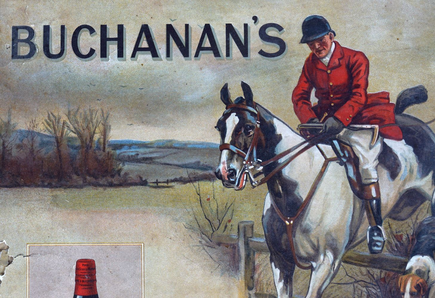 BUCHANAN'S 'RED SEAL' SCOTCH WHISKY POSTER - Image 2 of 4