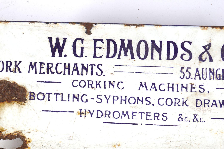 W. G. EDMONDS & CO. DESK SIGN - Image 3 of 4