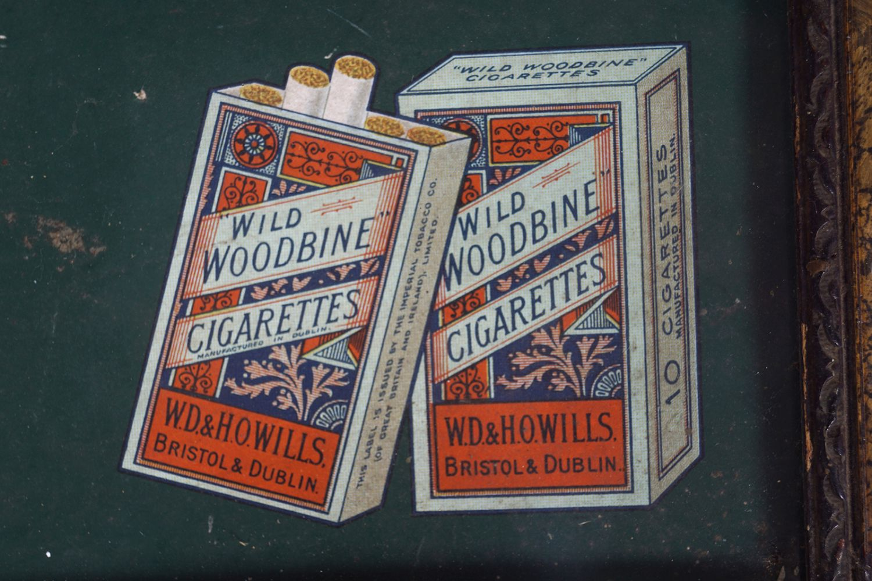 WILLS'S WOODBINE CIGARETTES ORIGINAL POSTER - Image 5 of 5