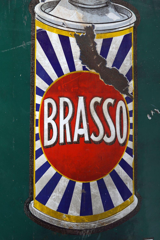BRASSO METAL POLISH SIGN - Image 2 of 3