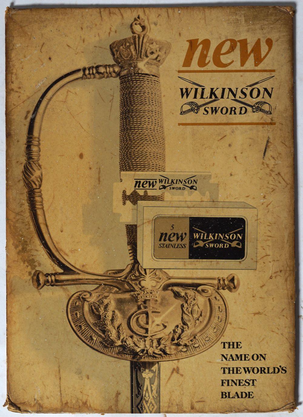 NEW WILKINSON SWORD ORIGINAL POSTER
