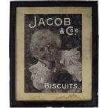 JACOB & CO'S BISCUIT ORIGINAL POSTER