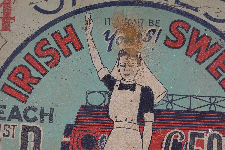 IRISH SWEEP ORIGINAL POSTER - Image 2 of 4