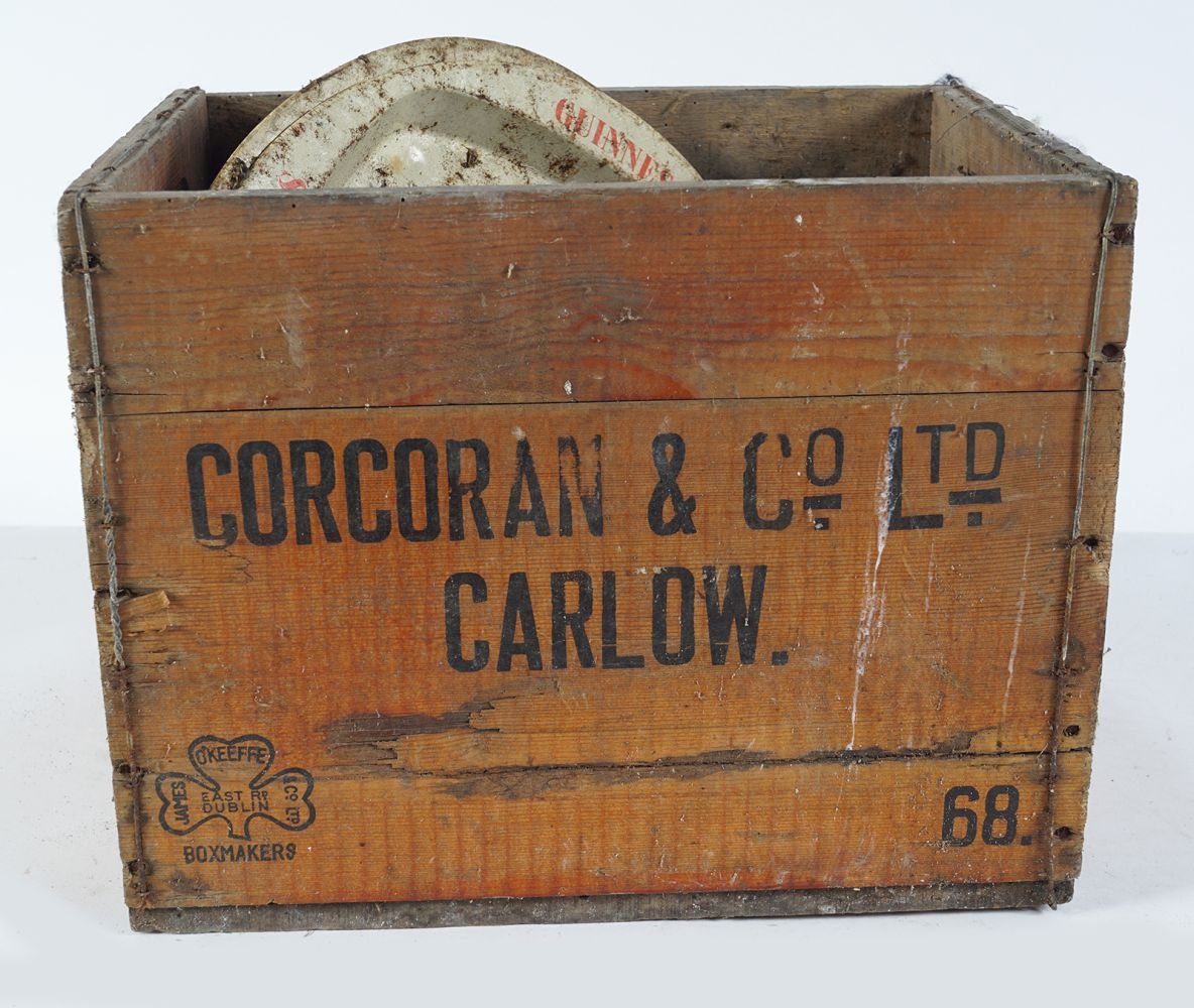 CORCORAN & CO CARLOW WOODEN CRATE