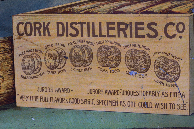 CORK DISTILLERIES CO. LTD WHISKY ORIGINAL POSTER - Image 4 of 4