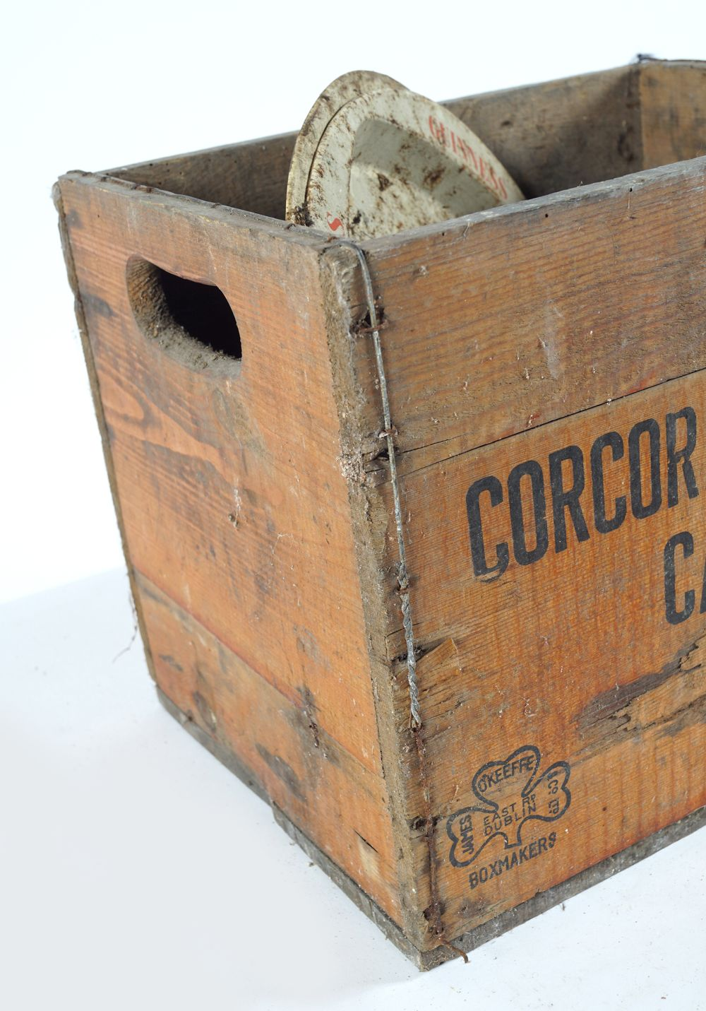 CORCORAN & CO CARLOW WOODEN CRATE - Image 2 of 2