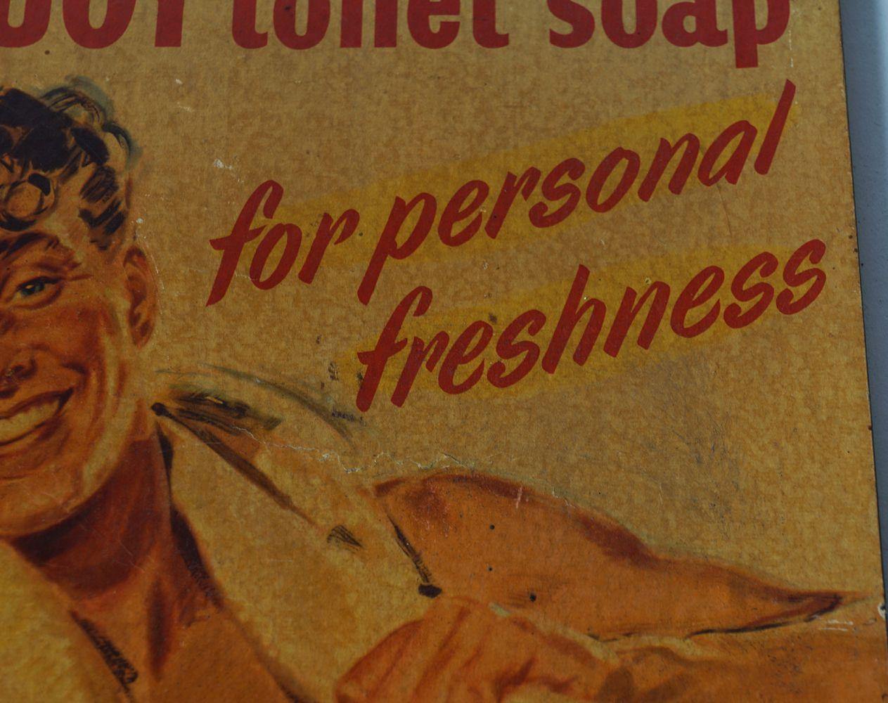 LIFEBUOY TOILET SOAP ORIGINAL POSTER - Image 3 of 4