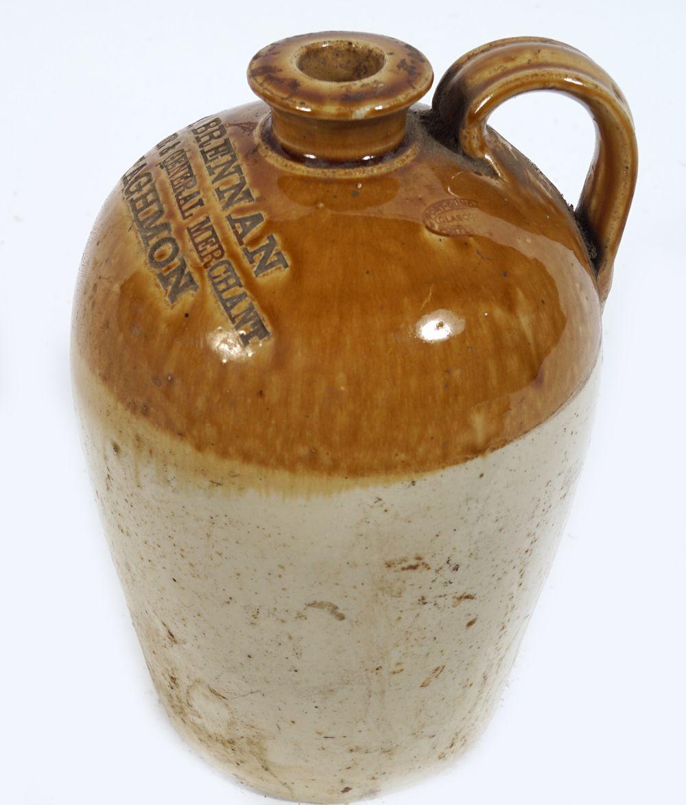 LATE 19TH-CENTURY STONEWARE WHISKEY JAR - Image 3 of 3