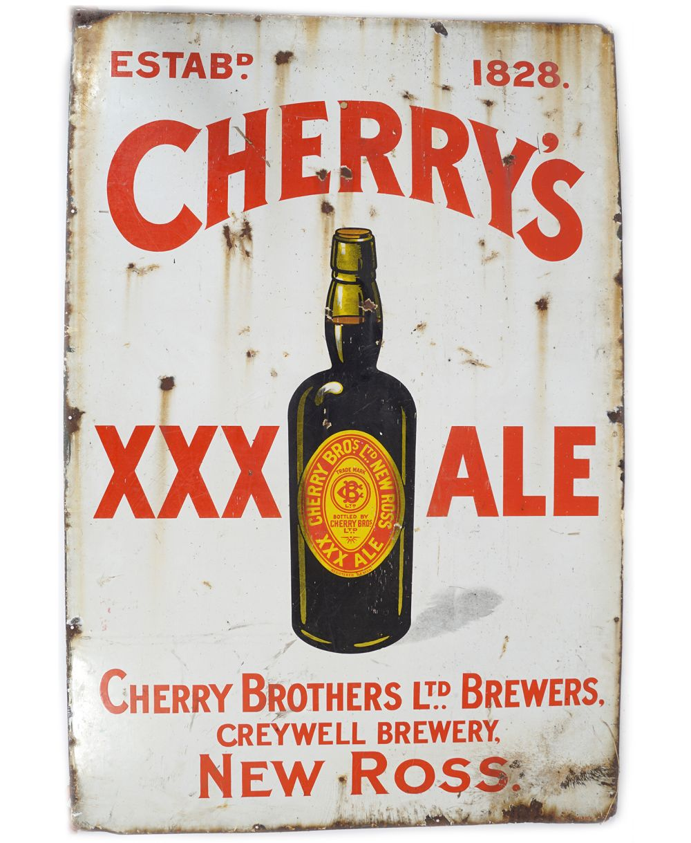 CHERRY'S XXX ALE ORIGINAL SIGN