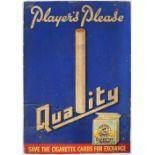 PLAYER'S PLEASE QUALITY ORIGINAL VINTAGE POSTER