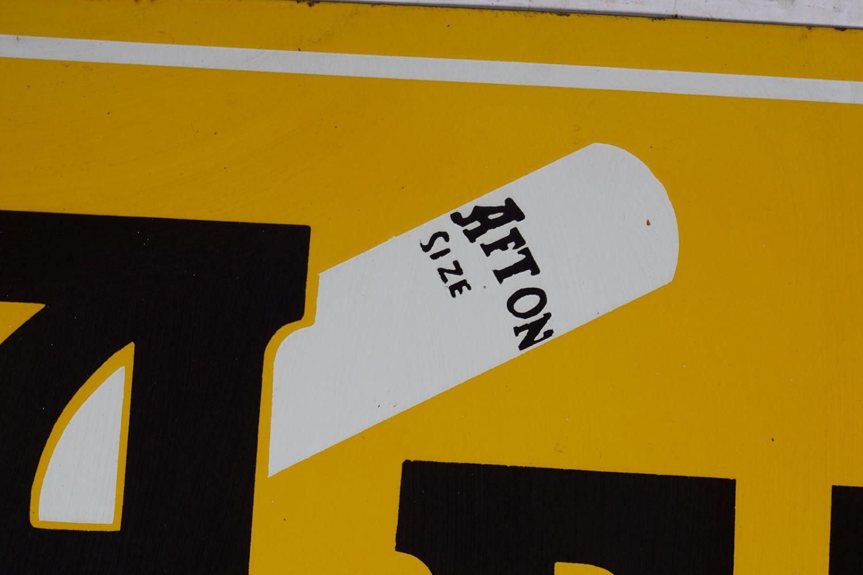 AFTON ENAMELLED SIGN - Image 3 of 5