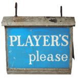 PLAYER'S PLEASE ELECTRIC SIGN