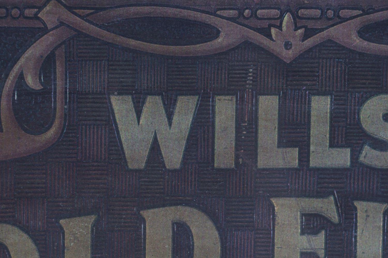 WILLS'S GOLD FLAKE TOBACCO ORIGINAL POSTER - Image 4 of 6
