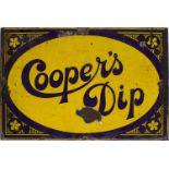 COOPER'S DIP ORIGINAL SIGN