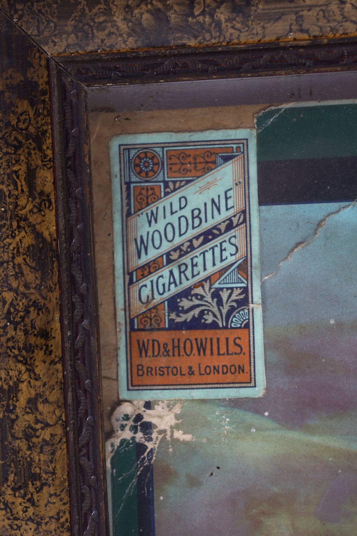 WILLS'S WOODBINE CIGARETTES ORIGINAL POSTER - Image 4 of 5