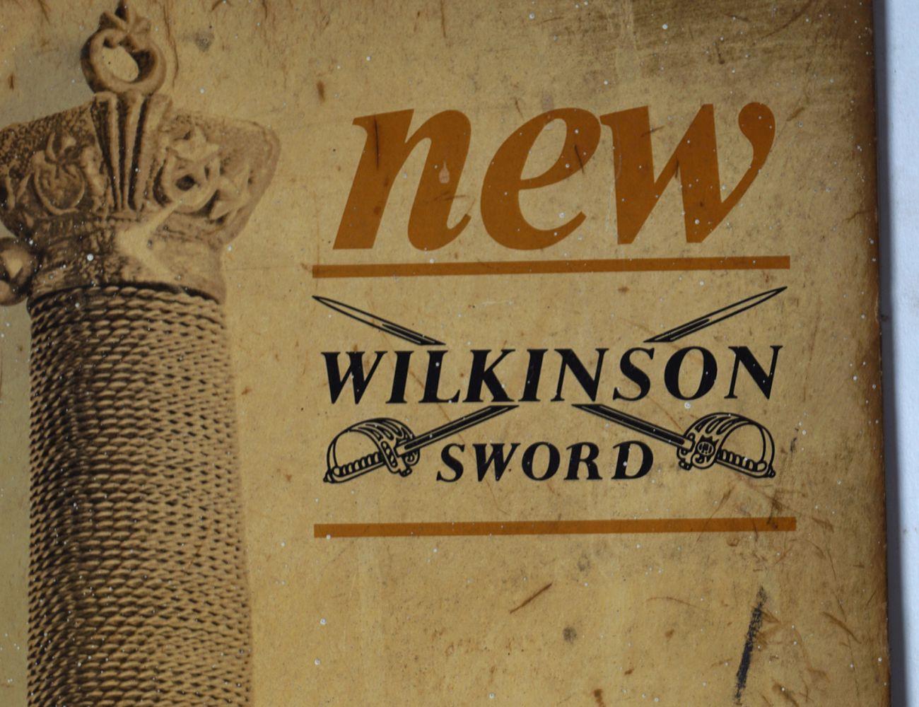 NEW WILKINSON SWORD ORIGINAL POSTER - Image 2 of 4