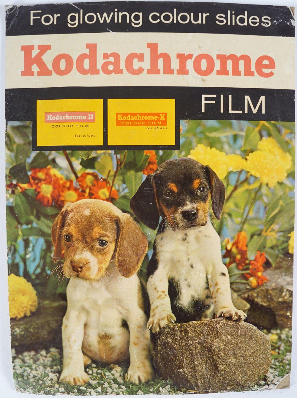 KODACHROME FILM ORIGINAL VINTAGE POSTER