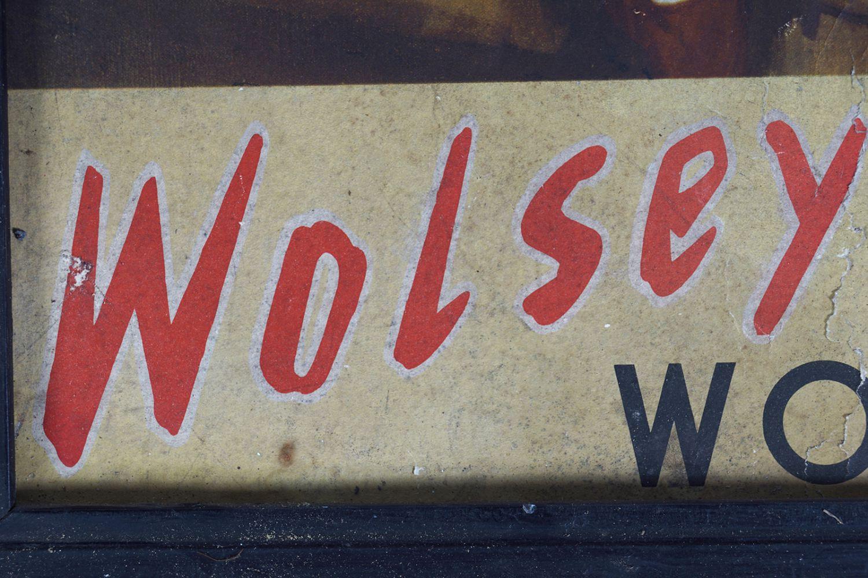 WOLSEY WOOLS ORIGINAL VINTAGE POSTER - Image 3 of 4