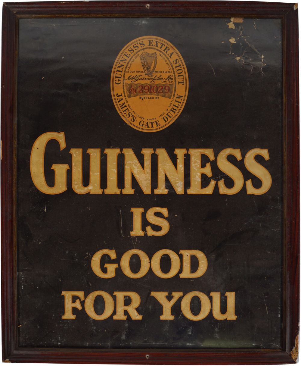 GUINNESS IS GOOD FOR YOU ORIGINAL POSTER