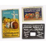 MACONOCHIE MARMALADE PRINT POSTER ON CARD