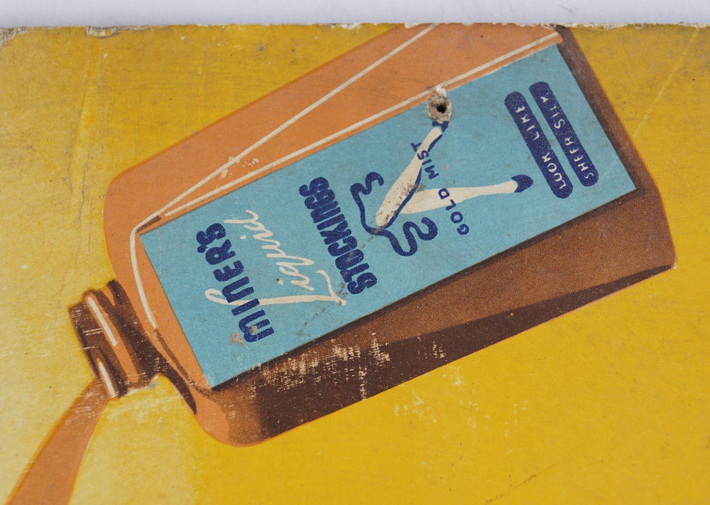 MINER'S LIQUID STOCKINGS ORIGINAL POSTER - Image 2 of 4