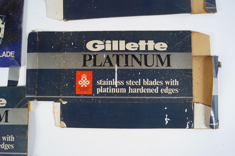 GILLETTE SUPER SILVER POSTER ON METAL - Image 2 of 4