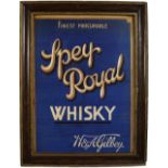 FINEST PROCURABLE SPEY ROYAL WHISKY POSTER