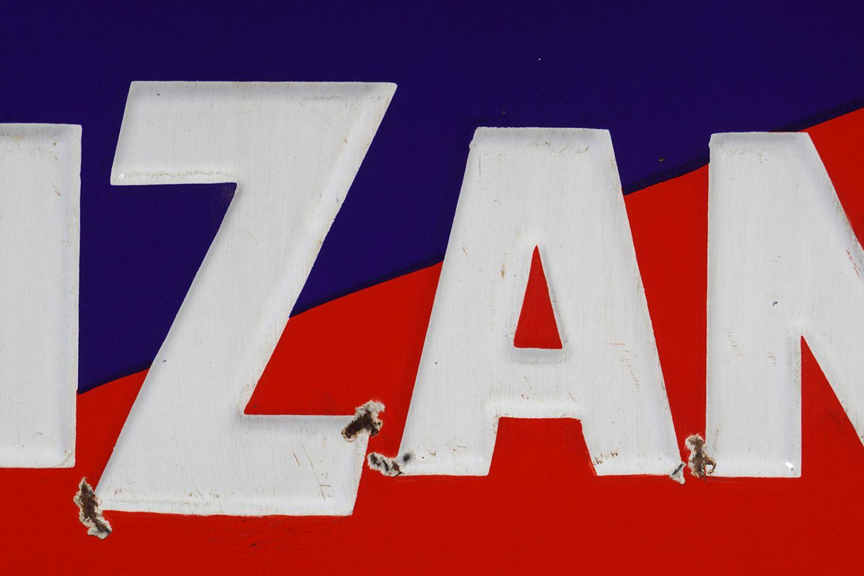 CINZANO ORIGINAL ENAMELLED SIGN - Image 2 of 6