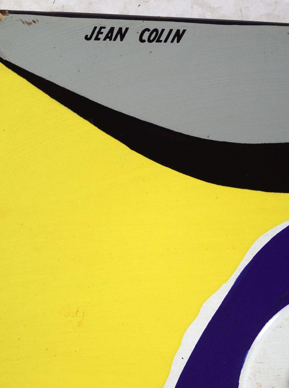 CINZANO ORIGINAL ENAMELLED SIGN - Image 4 of 6