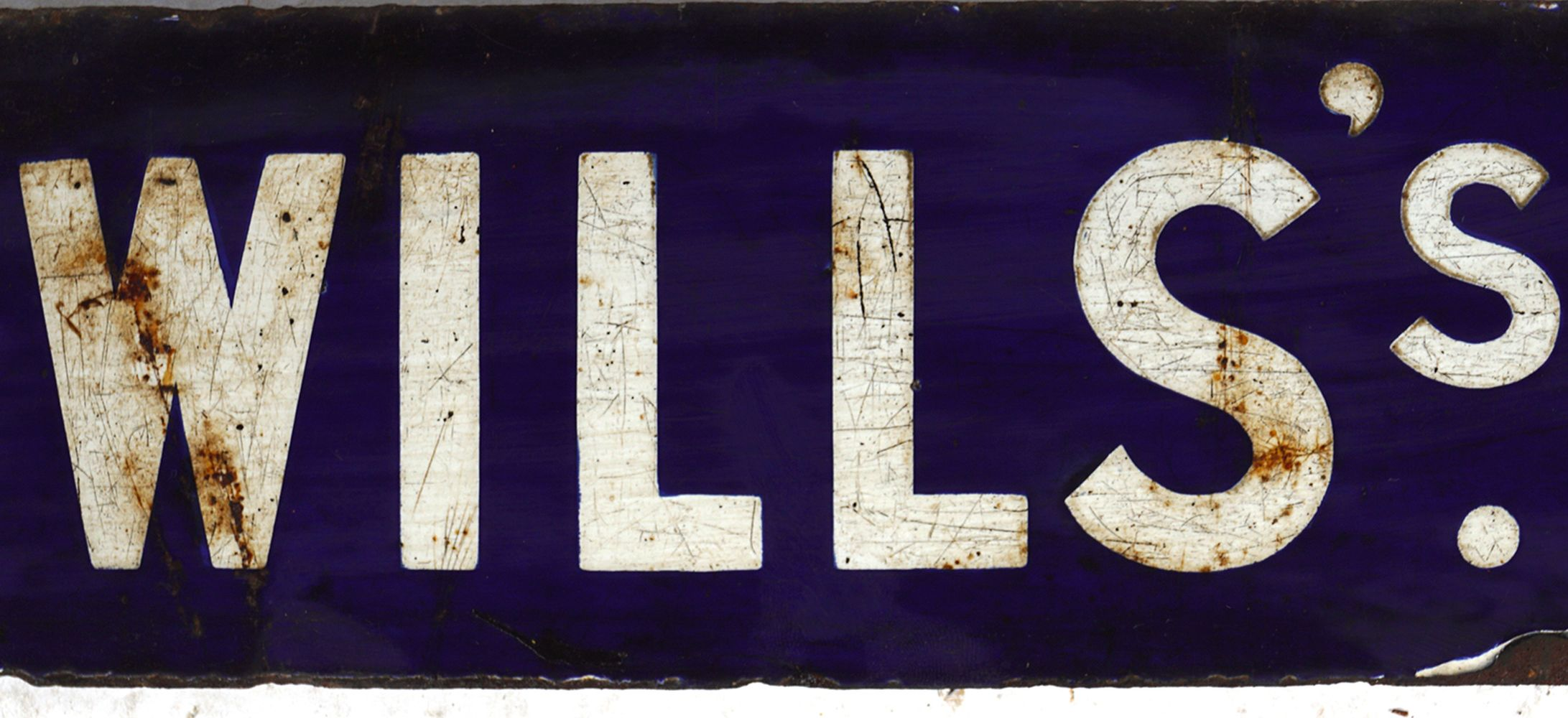 WILLS'S CAPSTAN NAVY CUT CIGARETTES SIGN - Image 3 of 4