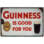 GUINNESS IS GOOD FOR YOU ORIGINAL SIGN