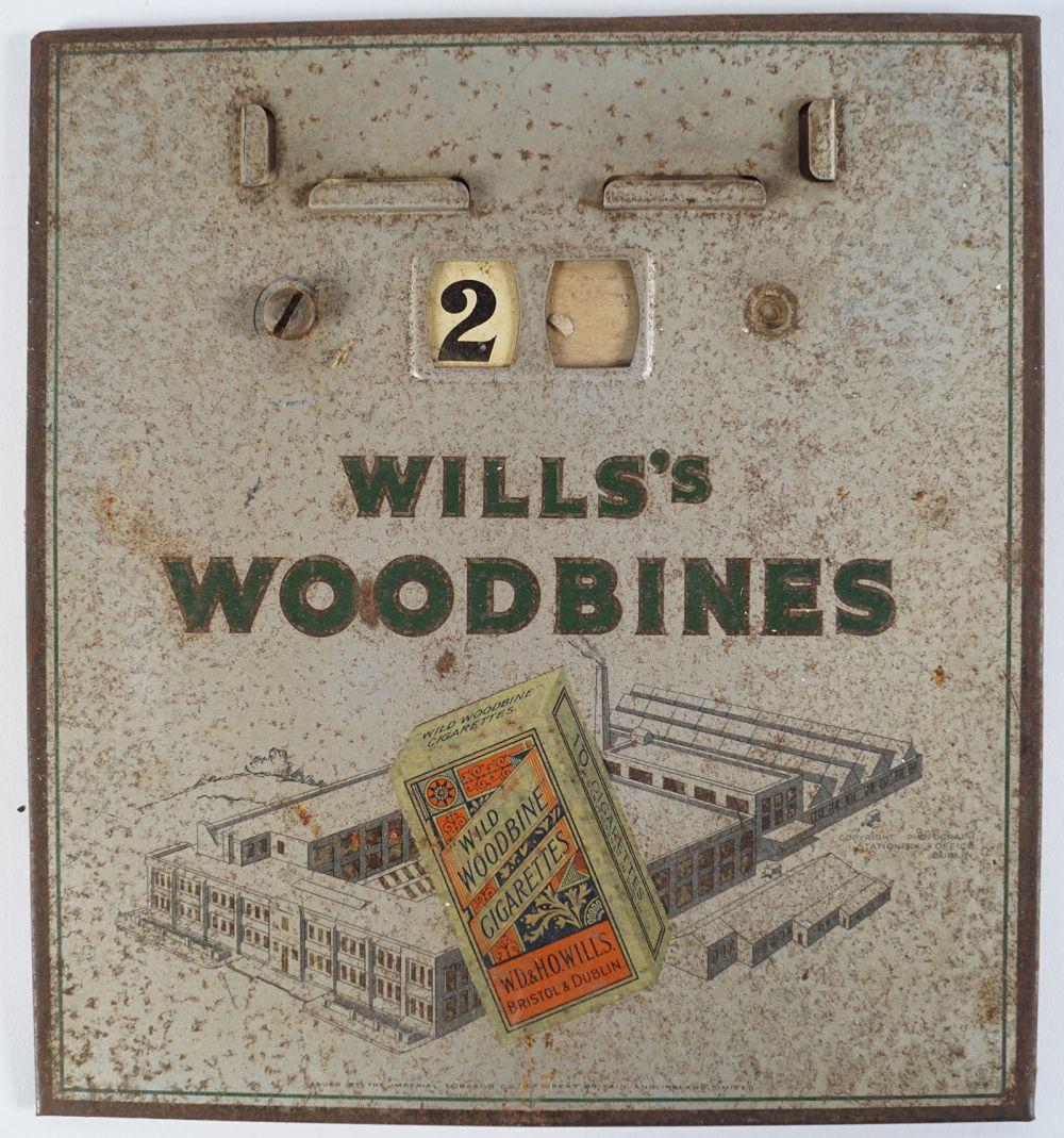 WILLS'S WOODBINES CALENDAR