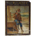 WILLS'S BULWARK ORIGINAL VINTAGE POSTER