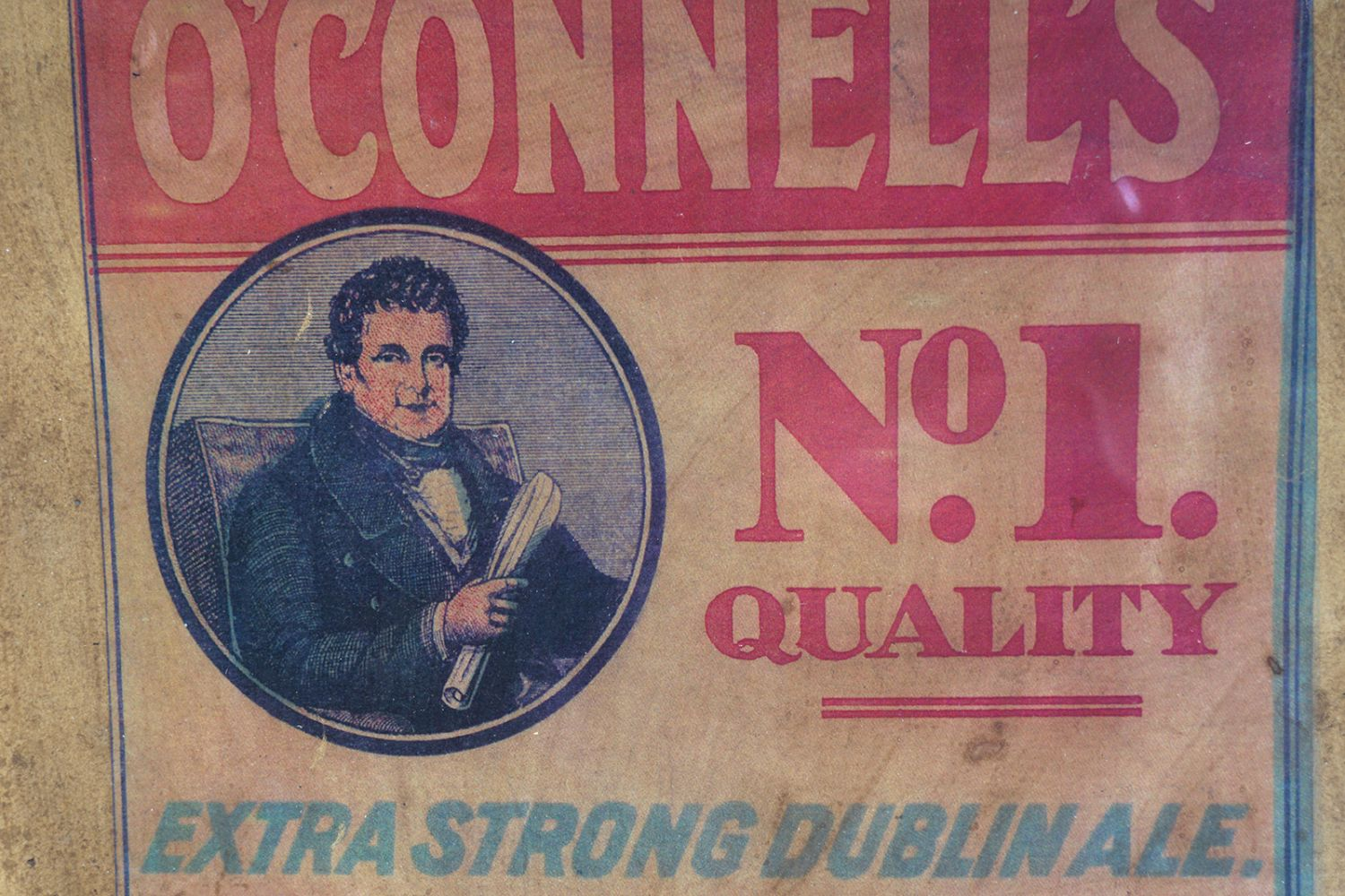 O'CONNELL'S NO.1 QUALITY ALE VINTAGE POSTER - Image 3 of 4