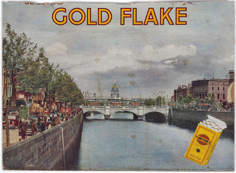 GOLD FLAKE ORIGINAL POSTER