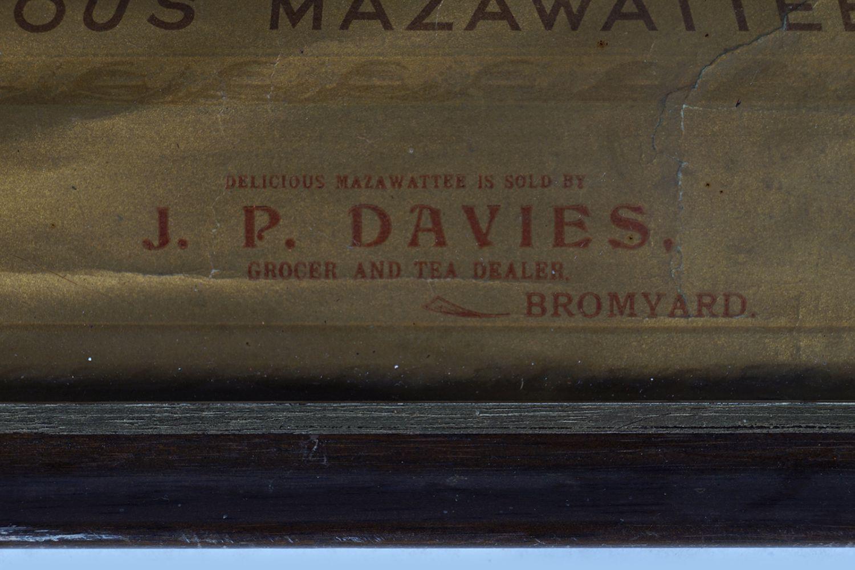 DELICIOUS MAZAWATTEE TEA CALENDAR 1898 - Image 5 of 8