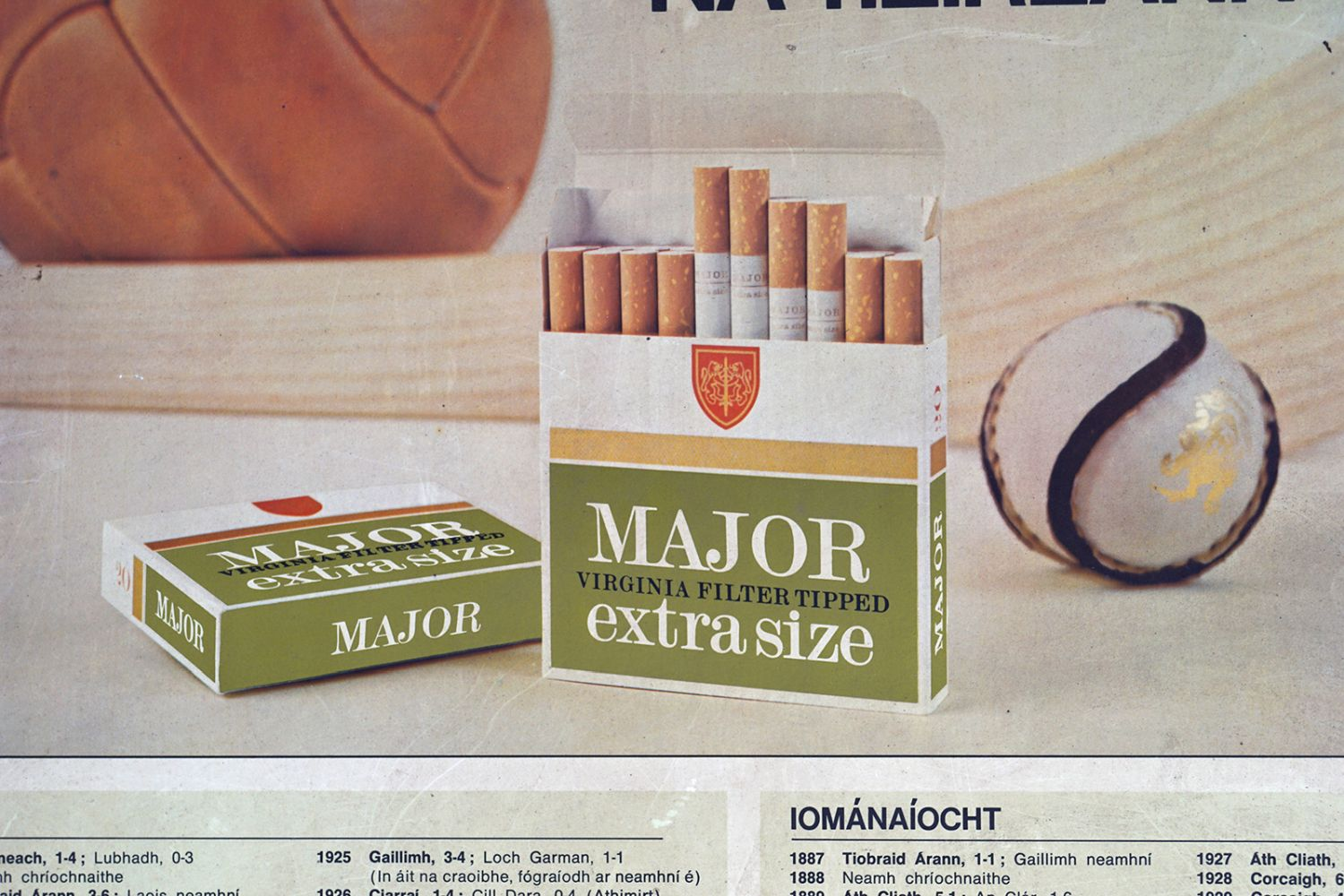 MAJOR VIRGINIA FILTER TIPPED CIGARETTES POSTER - Image 2 of 5